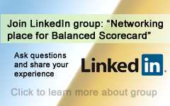 Join our Balanced Scorecard group on LinkedIn